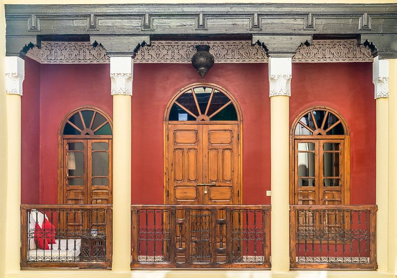 Architectural details of Riad Safa