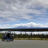 Richardson Highway with Wrangell Mountains