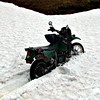 "Snow bound KLR  , <a href=""http://www.motoquesttours.com/guided-motorcycle-tour.php?alaska-northern-expedition-adventure-29"">http://www.motoquesttours.com/guided-motorcycle-tour.php?alaska-northern-expedition-adventure-29</a>"