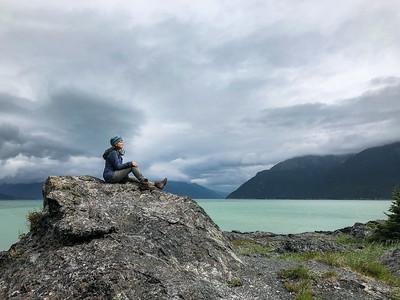 Reflecting in Haines Alaska