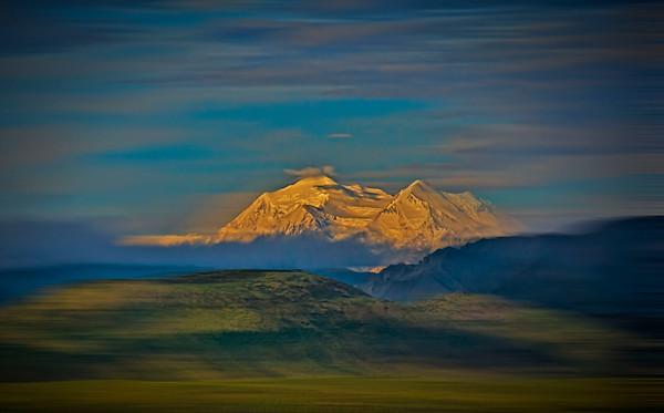 Mount McKinley (Denali) within the Denali National Park, #0428