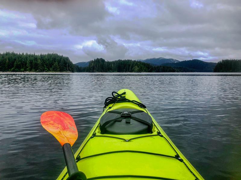 Kayaking Alaska