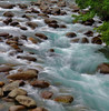 Rushing waters of glacier streams near Anchorage, Alaska, #0439