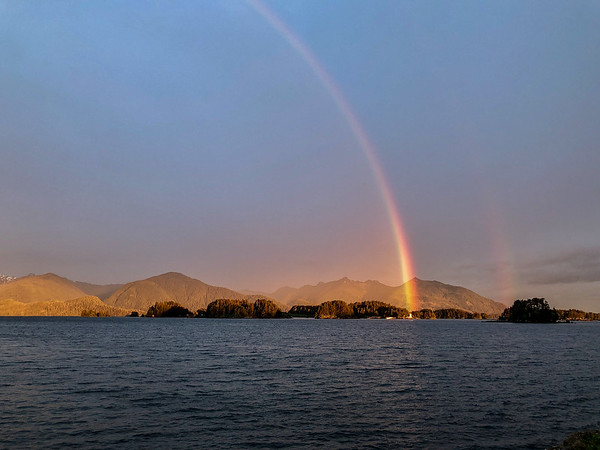 Rainbow over Sitka