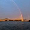 Rainbow over Sitka