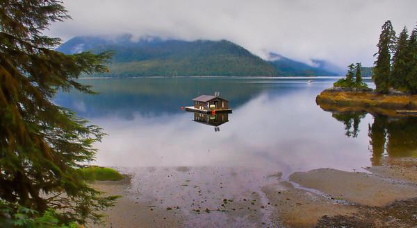 Houseboat at Anan Wildlife Observatory, Alaska, #040