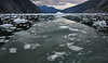 Ice flow on LeConte Bay Glacier near Wrangell, AK, #0418