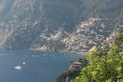 "Positano the ""vertical village"" of the Amalfi Coast"