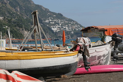Fishing Boats in Positano