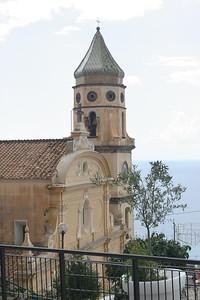 The Church of San Gennaro in Praiano