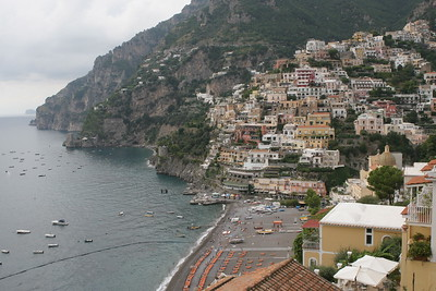 Positano's Great Beach