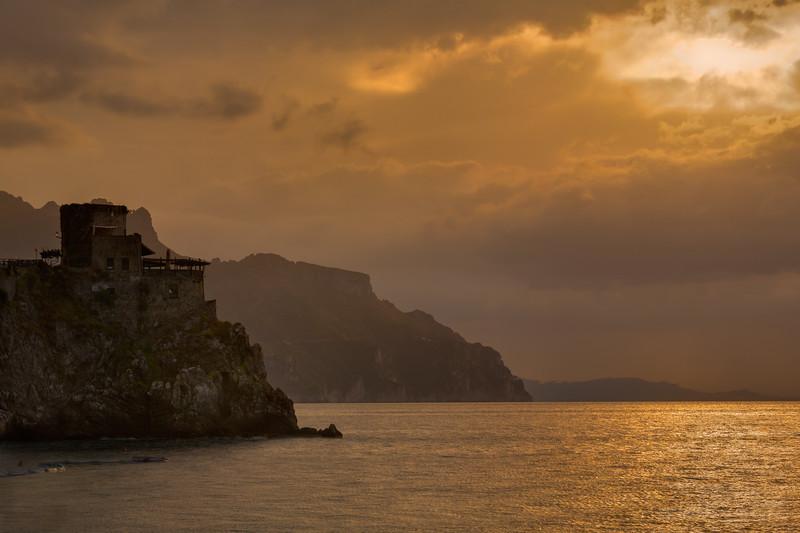 Clouds over Amalfi