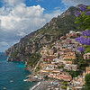 Positano on the Mediterranean