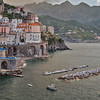 Village of Atrani on the Amalfi Coast