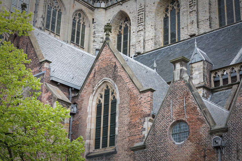 Grote of Saint Bavokerk - details and textures