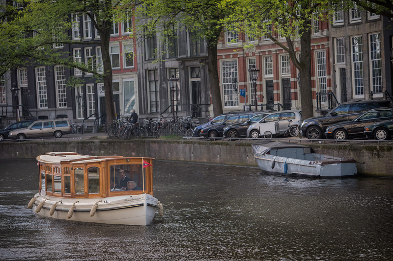Herengracht canal homes