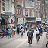 Bike traffic in Haarlem