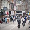 Bike traffic in Haarlem