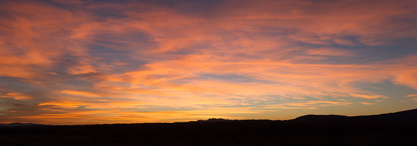 Sunrise from Santa Ana Pueblo, March 15, 2015.