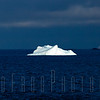 Sun on Iceberg