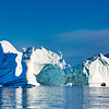 Large Iceberg and Zodiac