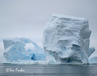 Iceberg near Cape Hallet Iceberg in the Ross Sea region of the Antarctic, near Cape Hallett