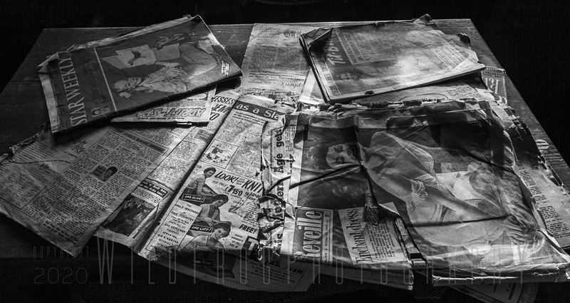 Old News Papers