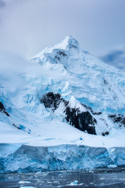 Ice covered Mountain