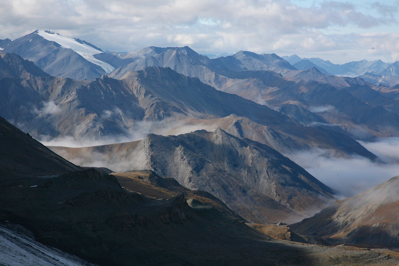 The Brooks Range and the headwaters of the Hulahula River - Arctic National Wildlife Refuge