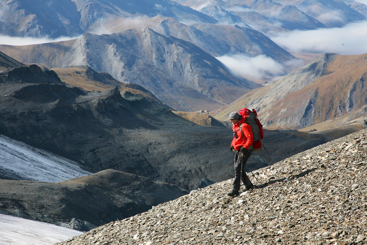 Moving through landscapes - Arctic National Wildlife Refuge