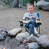 Kyle sitting by the fire at Chiricahua National Monument. May 2013.
