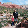 One of the lookouts in Sedona, Arizona. They call it Red Rocks for a reason! May 2013.