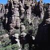 The ash pinnacles of Chiricahua National Monument. May 2013.