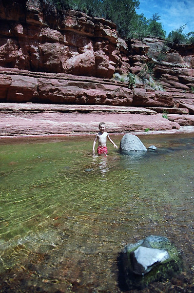 Slide Rock State Park, Sedona, Arizona. May 2013.