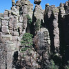 The ash pinnacles of Chiricahua National Monument. May 2013.