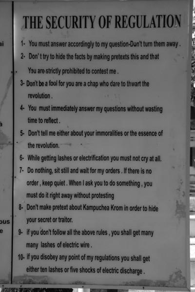 Senseless Rules