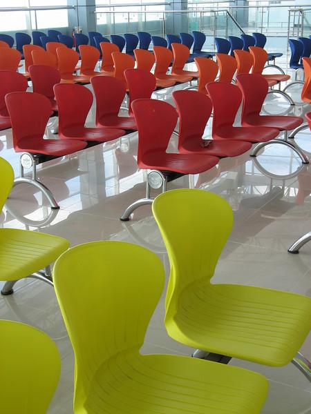 Rainbow of Chairs