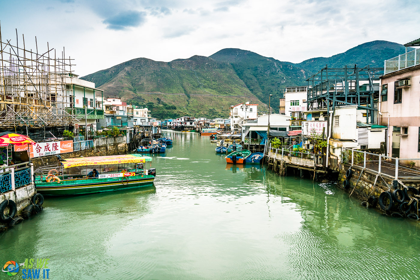 waterfront village made up of mostly Hakka people in Hong Hong