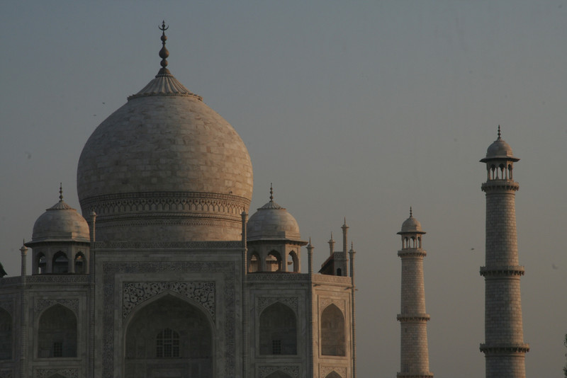 3/4 of the Taj