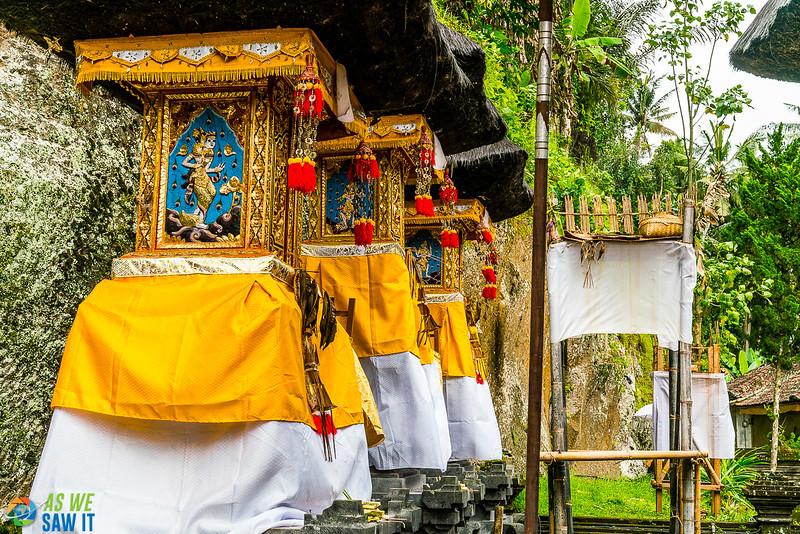 inner temple divisions at goa gajah