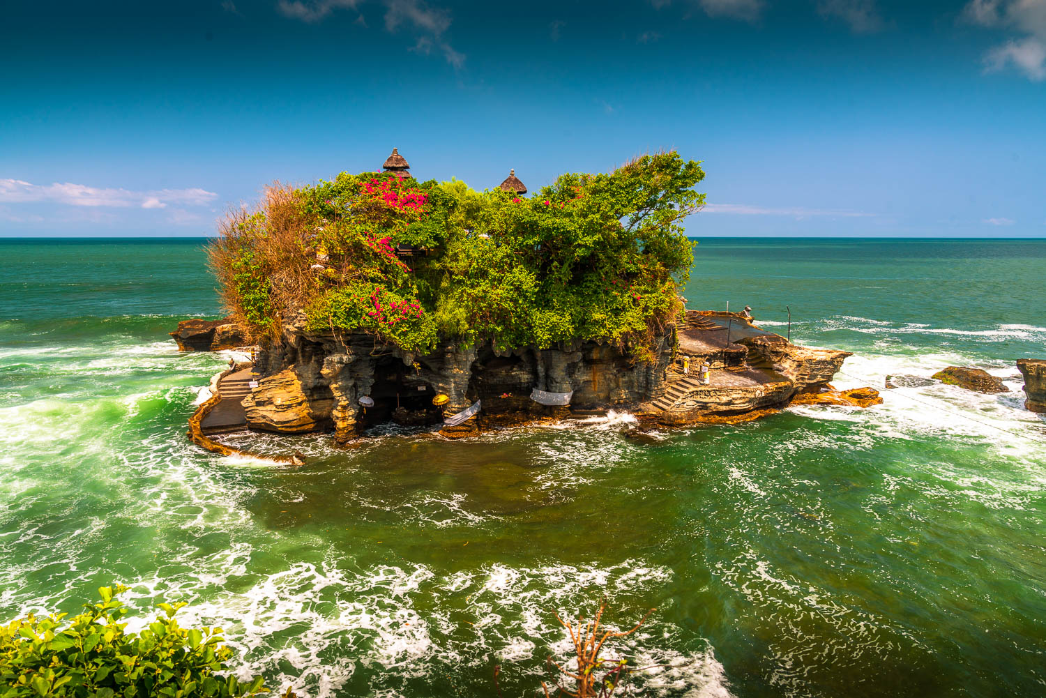 Although Tanah Lot is not a directional temple, due to its island location only visited during low tide, it's a must visit temple.
