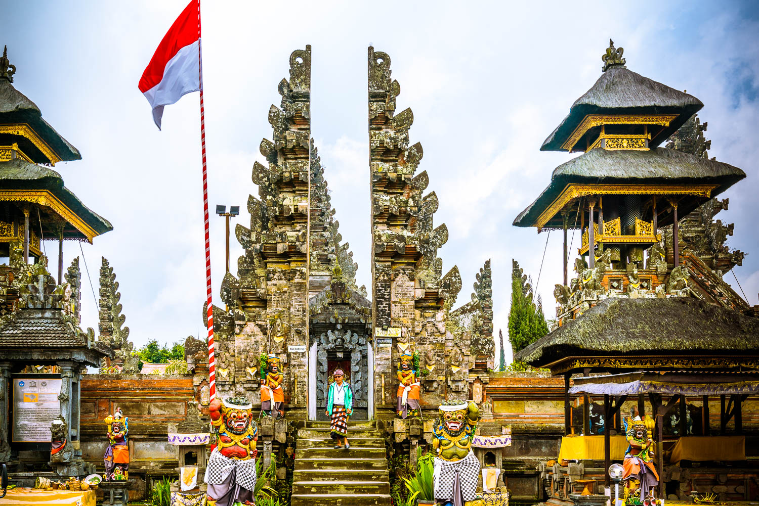 Ulun Danu Batur is the second most important directional temple on Bali.