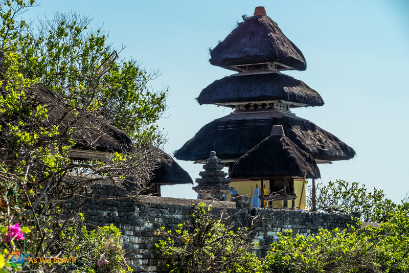 The temple complex of Uluwatu