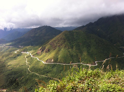 Enjoy riding mountainous northern Vietnam