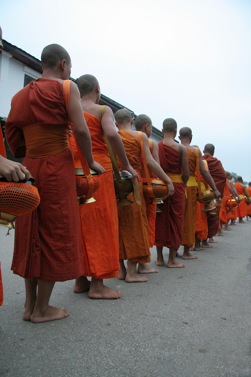 Every temple in the town participates in the daily processional.