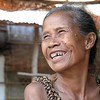 Local woman in the village