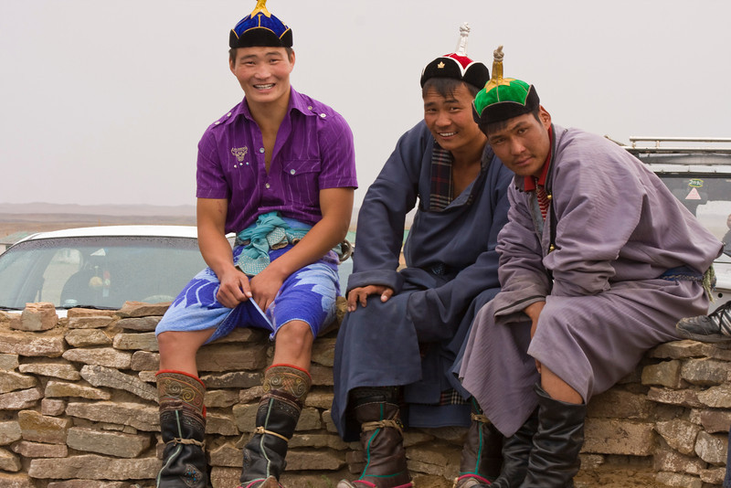 Manly Men of Naadam