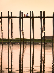 U-Bein Bridge — Mandalay, Myanmar