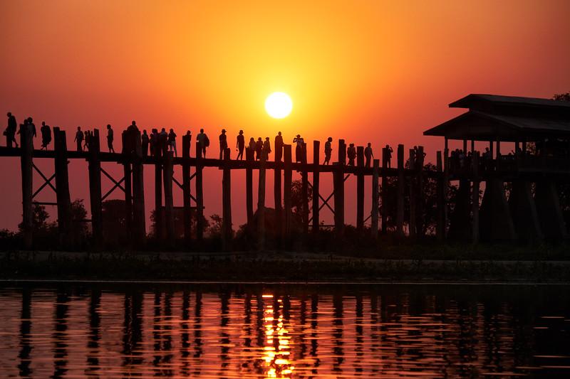 U-Bein Bridge — Mandalay, Myanmar