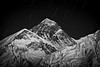 """Stars Over Everest""<br /> <br /> No land lies higher than this behemoth. Only stars."